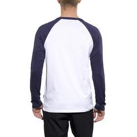POC Raglan Langærmet trøje Herrer blå/hvid